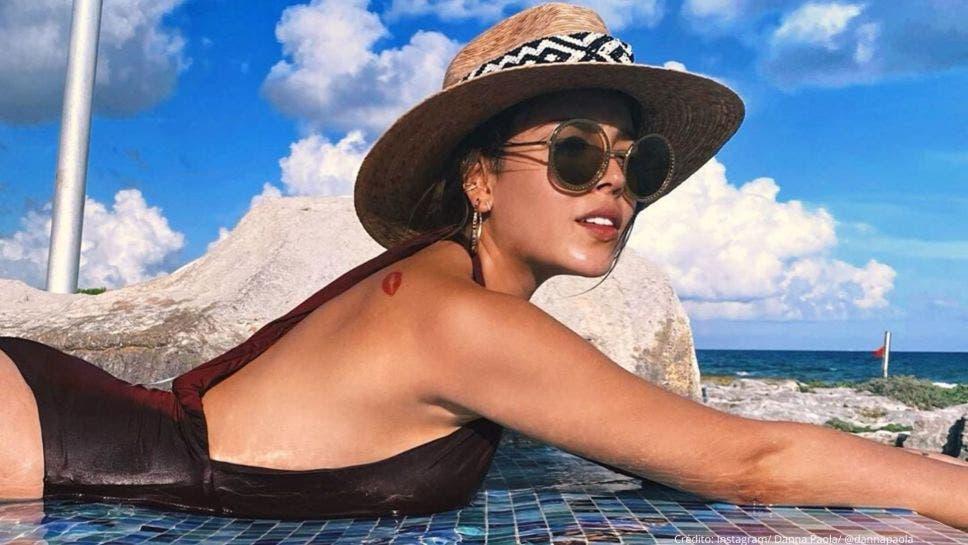 Danna Paola está en Cancún y celebra el cumpleaños de su amor