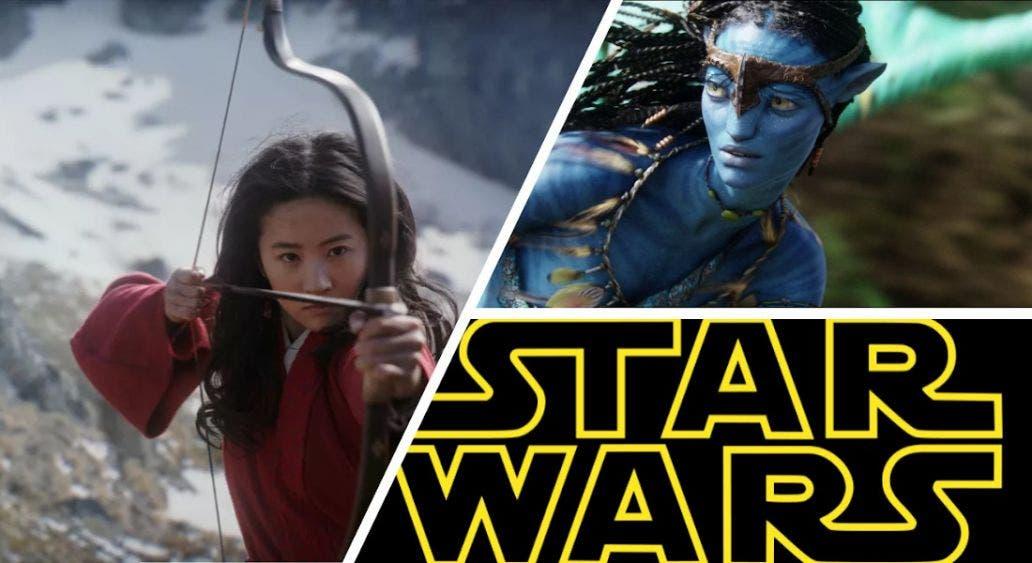 Disney aplaza los estrenos de Mulan, Avatar y Star Wars hasta 2021