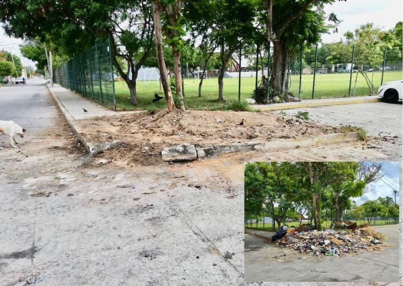 Eliminan 384 basureros clandestinos en zonas de Cancún.