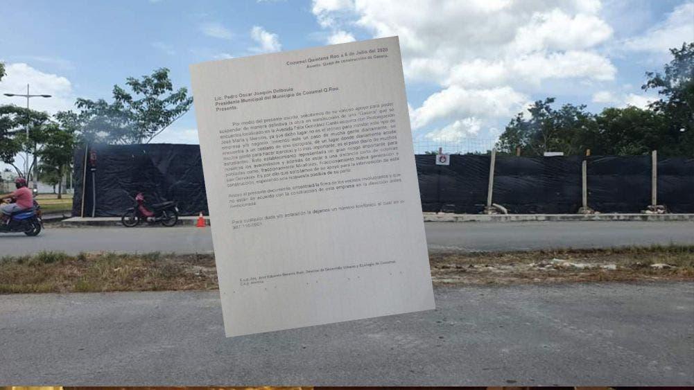 Se oponen colonos a construcción de estación de servicio