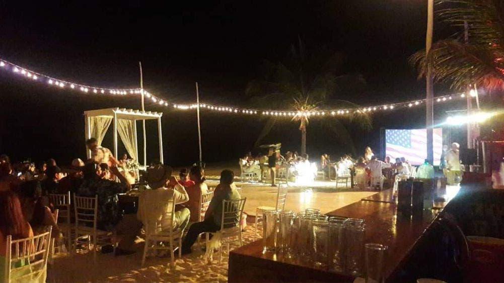 Realizan evento social en la isla de la pasión, pese a prohibición