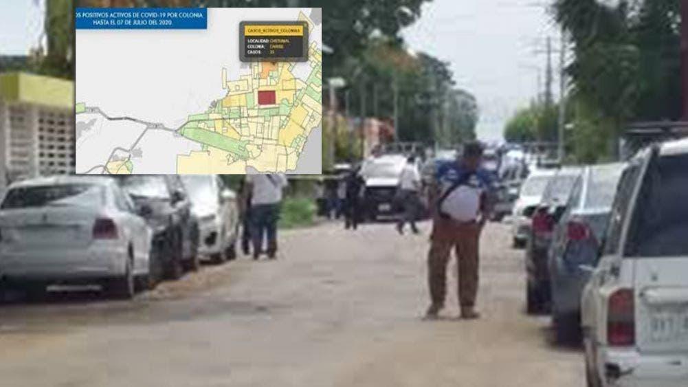 Interface: La colonia Solidaridad, el epicentro de Covid 19 en Chetumal