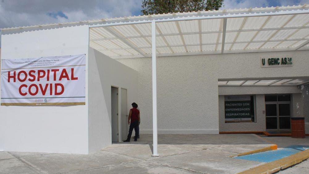 Habilita IMSS Chetumal 25 camas mas para covid-19