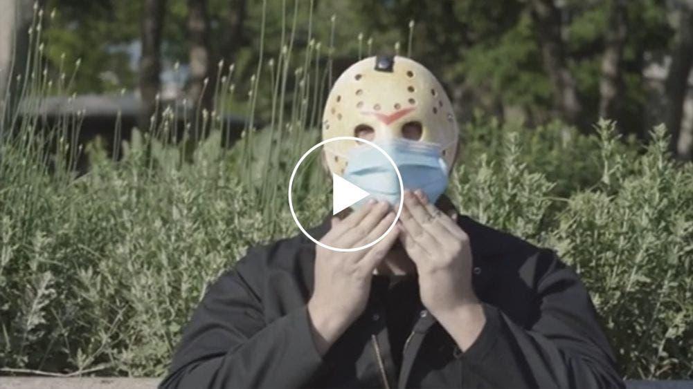 """Video: Invita Jason a """"ponerse la máscara"""" a los neoyorkinos"""