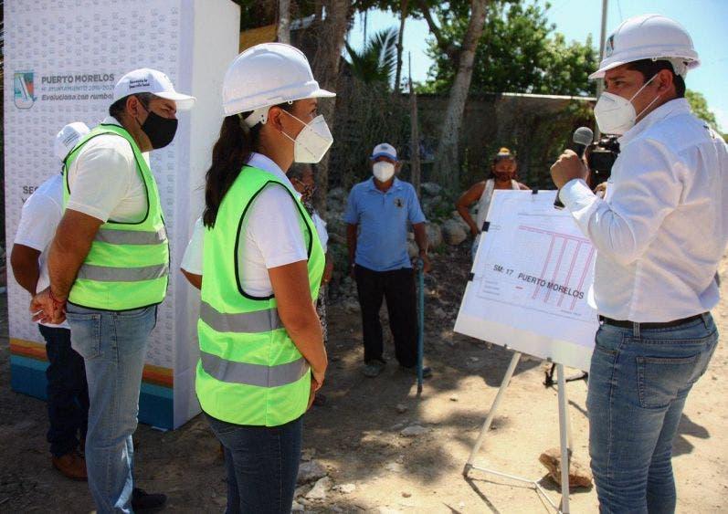 Laura Fernández dignifica La fe y Tierra Nueva con obras de pavimentación, en beneficio de alrededor de 500 familias.