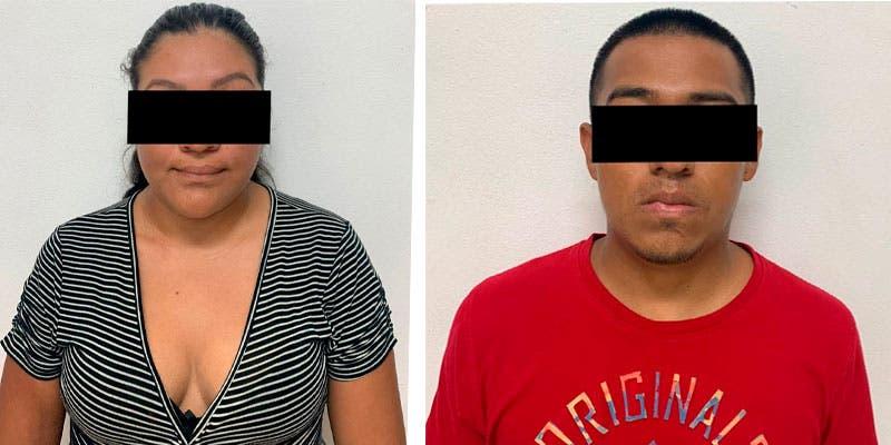 Detienen al 'Pony' y su pareja con droga en Cozumel.