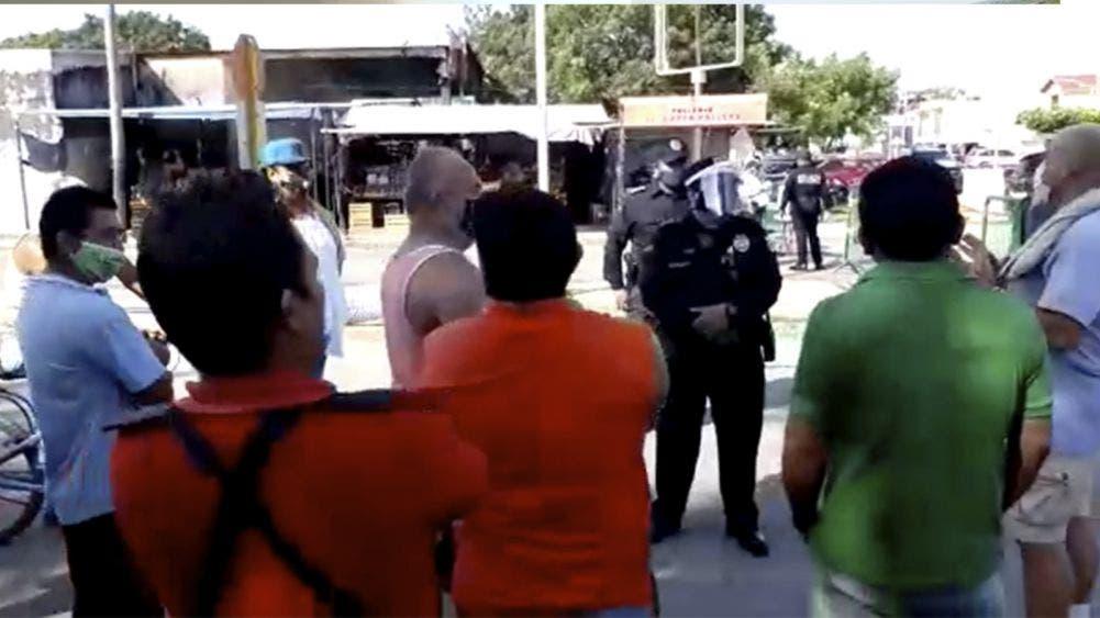 Video: Entre manifestaciones inicia cuarentena en Chetumal