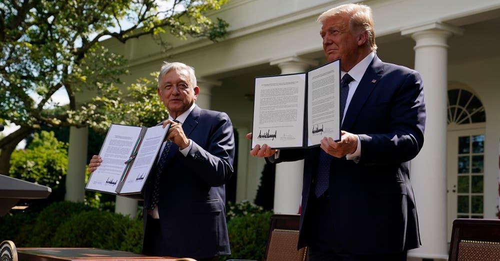 México y Estados Unidos firman
