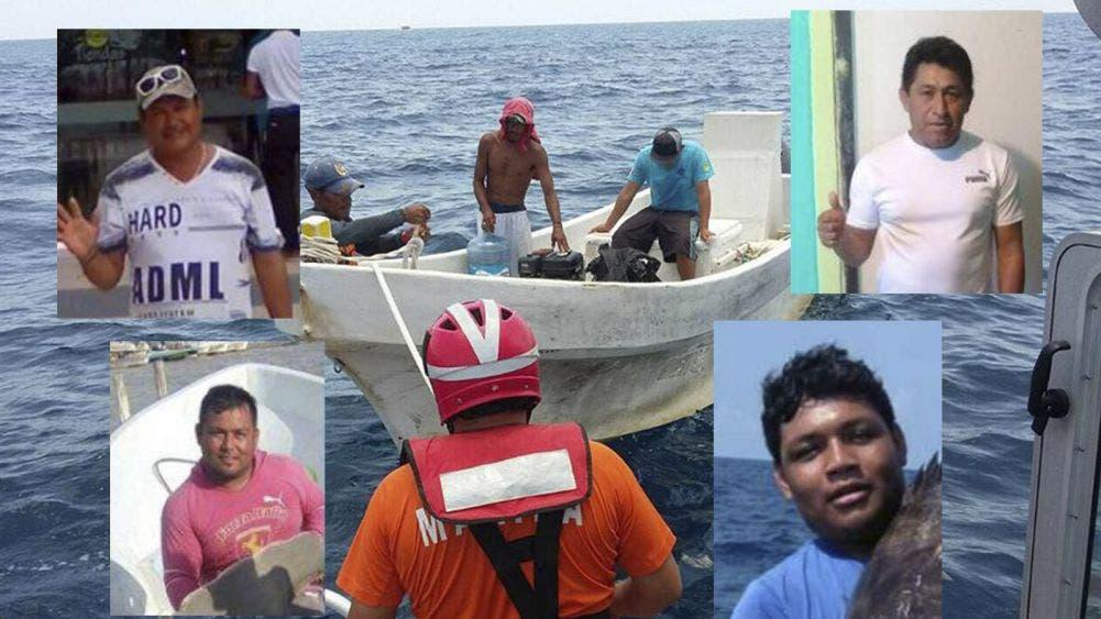 Vuelven a nacer! cuatro pescadores rescatados por la Marina