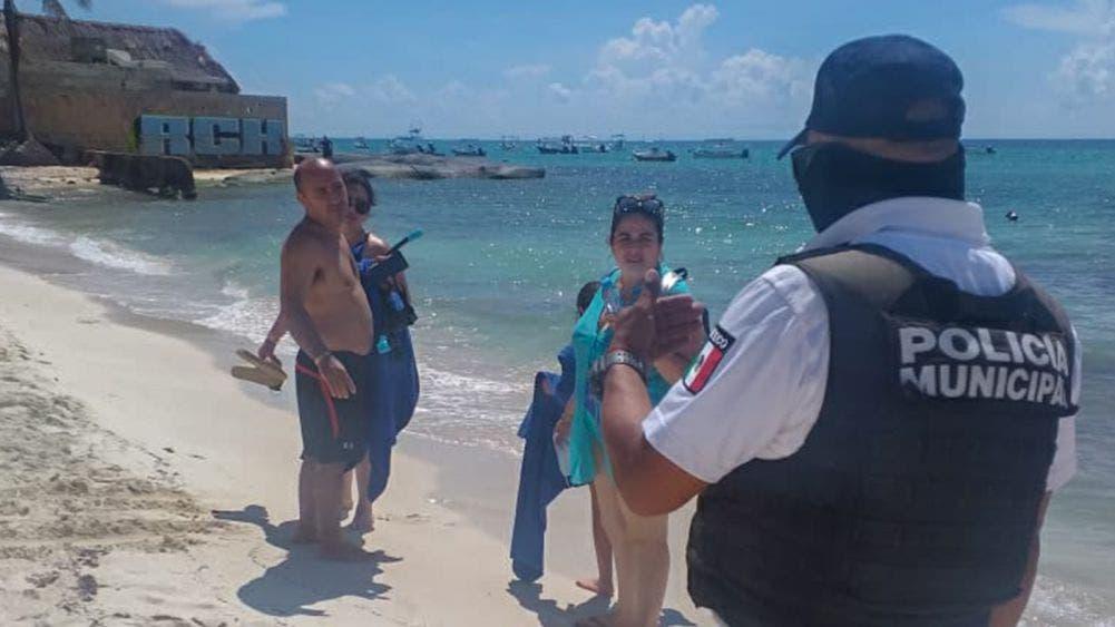 Regresarán operativos de retiro de bañistas en Playa Del Carmen