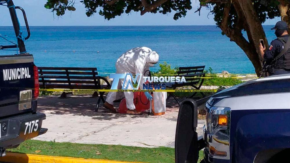 Hallan tiradas en playa de Cozumel pruebas de Covid-19; se sospecha que los reactivos fueron aplicados a personal de navieras.