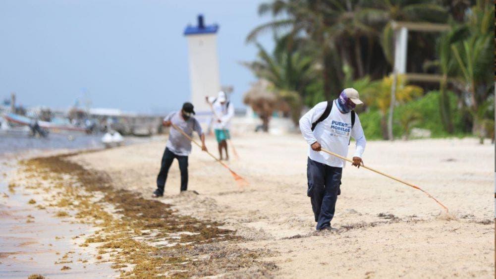 Con trabajo en equipo, playas de Puerto Morelos lucen buena imagen: Laura Fernández