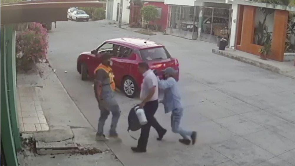 Video: Investiga Policía Ministerial impune robo en SM 103
