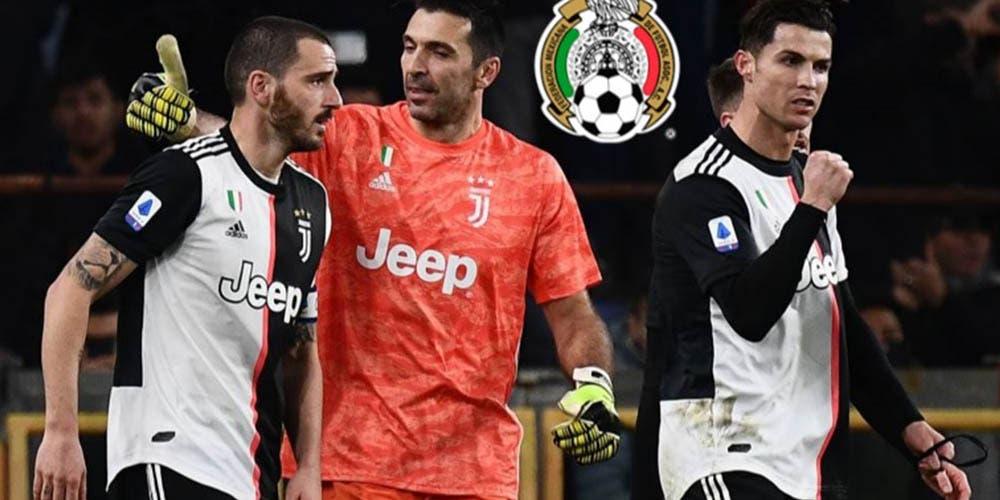 Estrellas de la Juventus piden a un mexicano