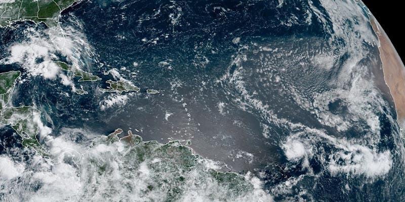 Tormenta tropical Gonzalo establece récord mientras se dirige al Caribe