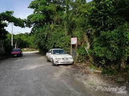 Zona insegura el área de la avenida Transversal y Ranchitos en Cozumel.