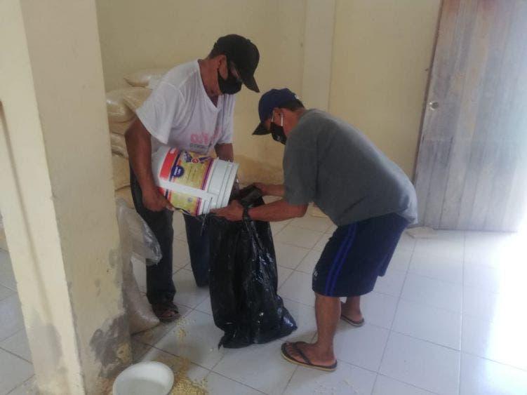 Dignatario maya de Kantunilkín agradece al diputado Luis Alegre apoyo alimentario.