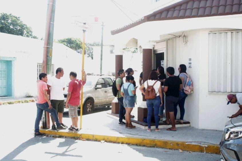 Constatan medidas sanitarias en oficinas del Trabajo en Cozumel.