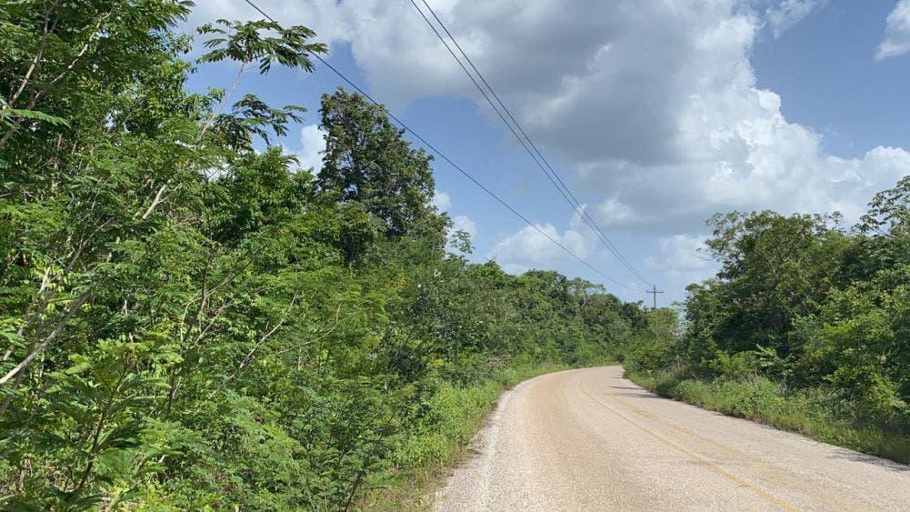 Por más de seis horas se quedaron sin luz en seis comunidades mayas.