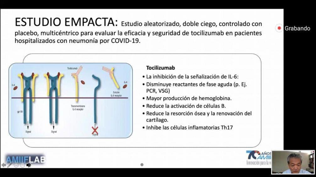 Avanza investigación de tratamientos curativos de Covid-19.