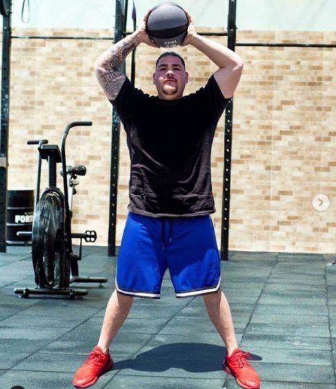 Andy Ruiz pierde peso y sorprende a sus seguidores.- El excampeón mexicano Andy Ruiz ya trabaja para volver al ring.