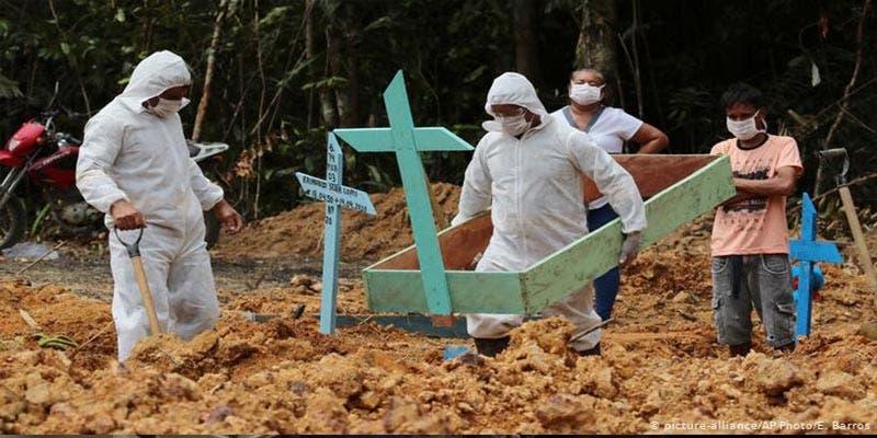 Brasil supera los 92 mil muertos por Covid-19