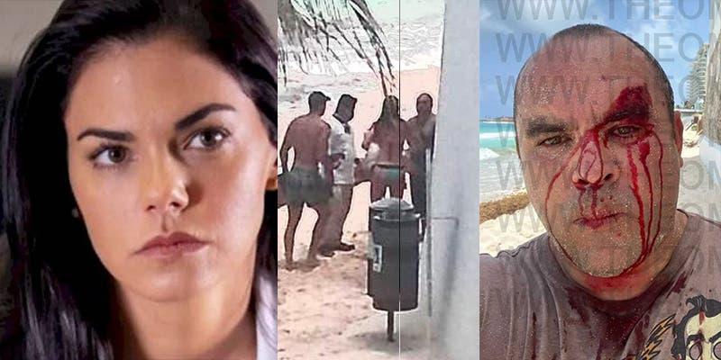 Livia Brito y su novio agredieron a un fotógrafo en Cancún