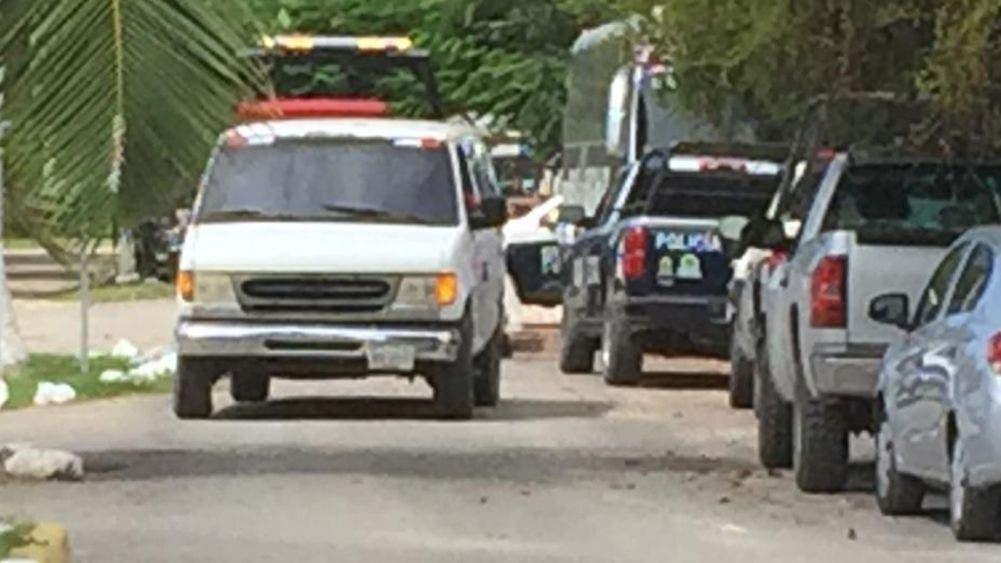 Cateo de la ministerial a rancho, deja vehículo y persona asegurados