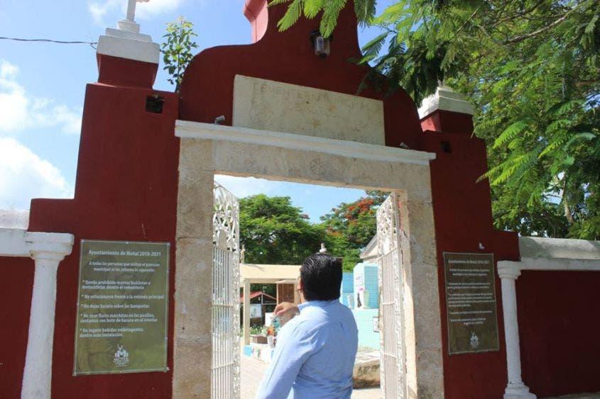 Cementerio de Motul hasta el tope, registran de 3 a 5 muertos diarios