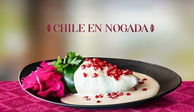 Temporada Chiles en Nogada