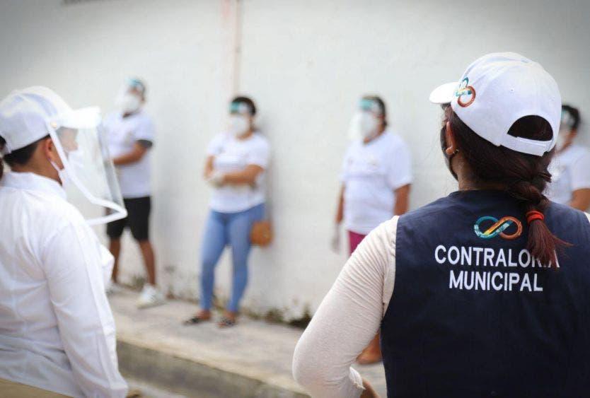 Integran habitantes de Puerto Morelos el Comité de Contraloría Social, encargado de verificar la obra denominada Mantenimiento de pozos de absorción