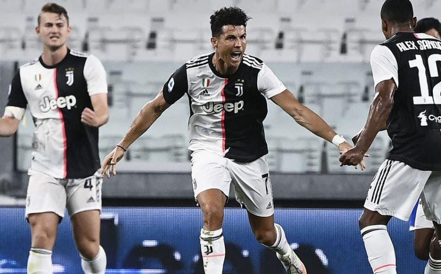 Juventus es campeón: CR7 anota gol del título