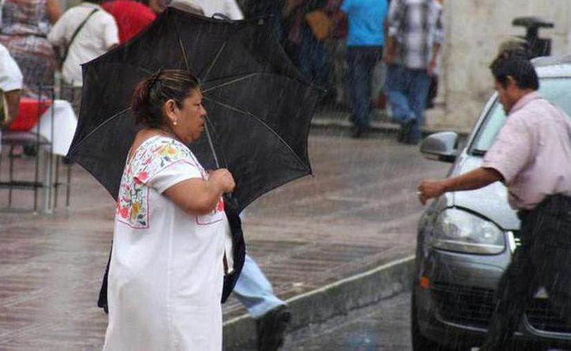 Lluvias ligeras para este sábado en Yucatán