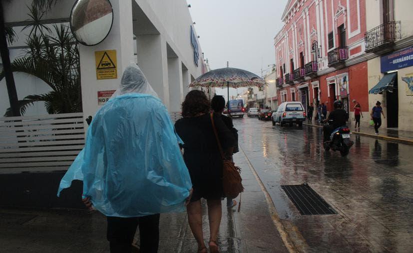 Prevén lluvias moderadas a fuertes en Yucatán