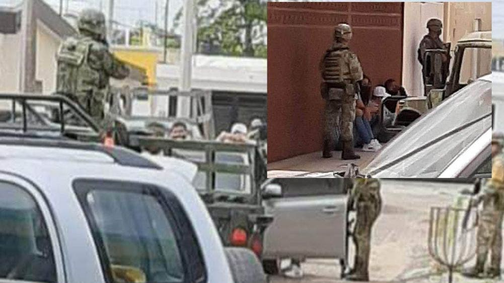 Detiene Ejército en Chetumal a cinco personas e incauta mas de 11 mdp