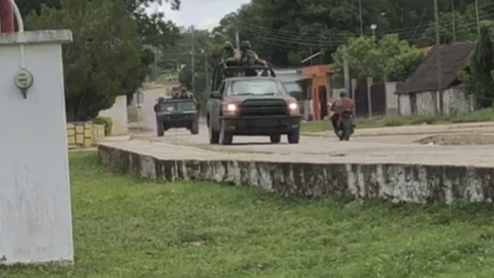 Video: Intensos operativos y cateos por narcoavioneta en JMM