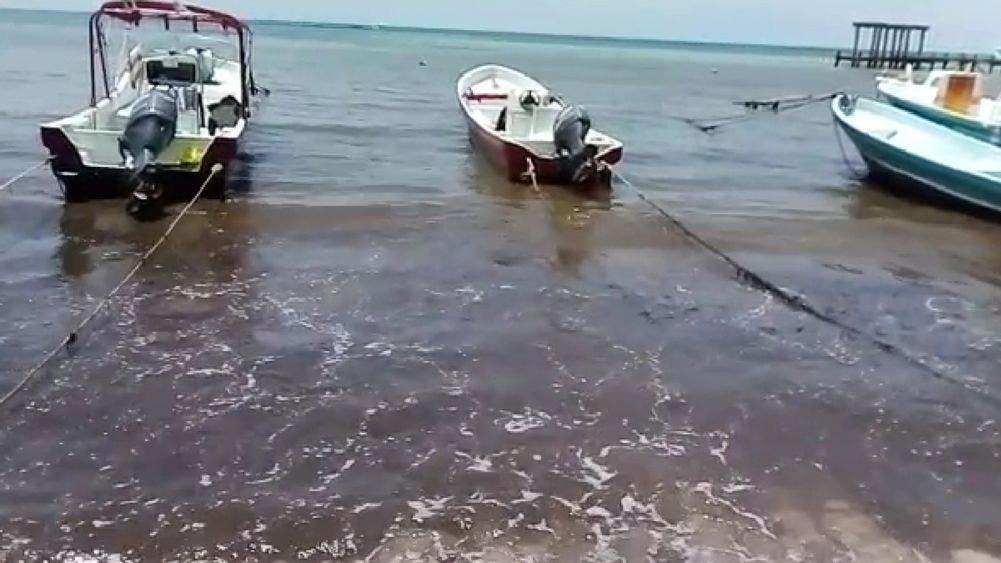 Se tornan obscuras aguas de Playa El Recodo