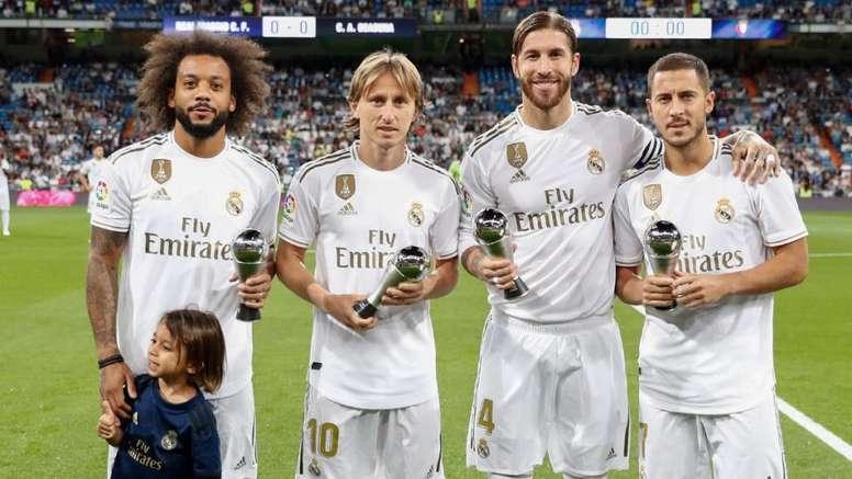 Estrella del Real Madrid se pierde el resto de la temporada
