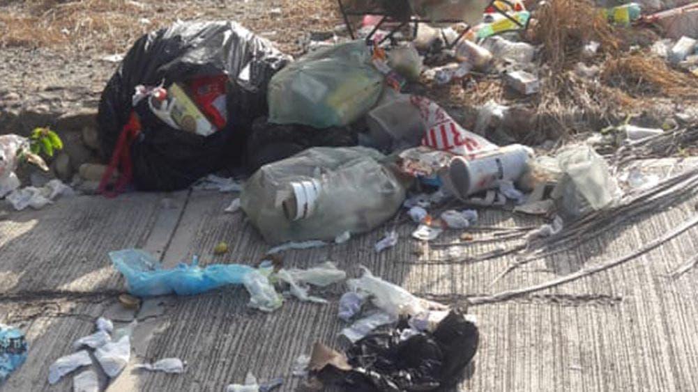 Denuncian irregularidades en servicio de recolección de basura