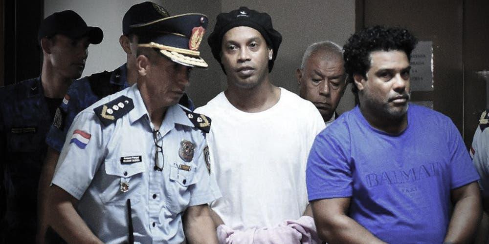 Ronaldinho cumplió 4 meses en prisión: así es su nueva vida