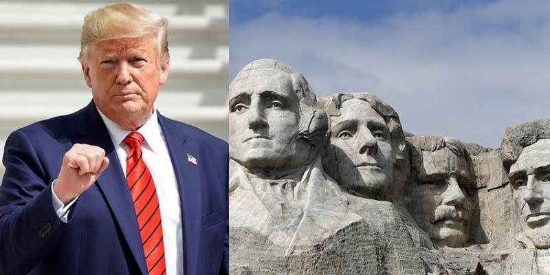Pese a aumentos de casos de Covid-19, Trump celebrará el 4 de julio en Monte Rushmore