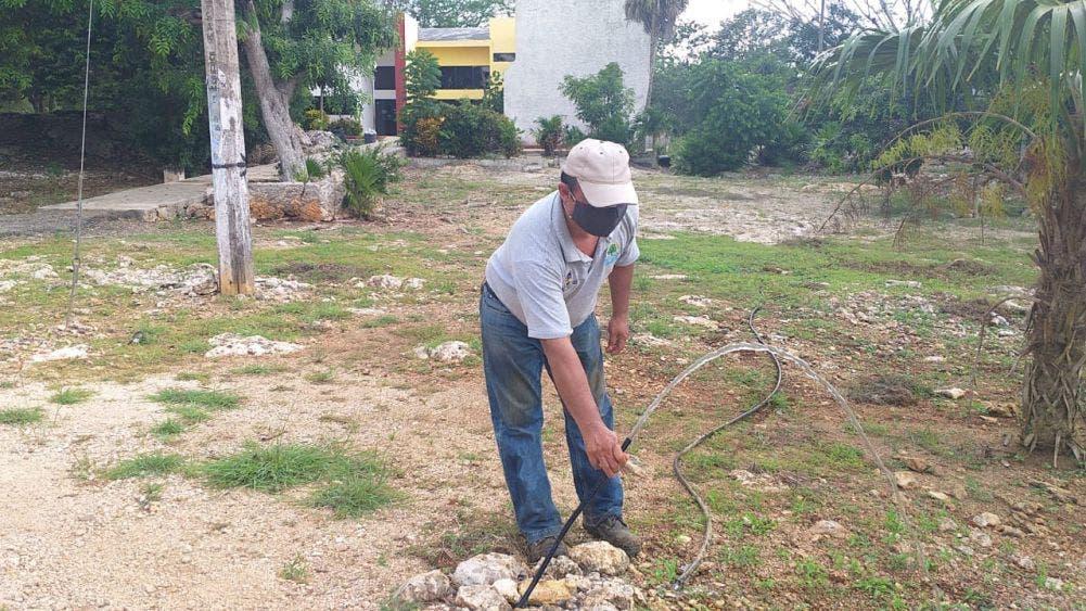 Restablecen el servicio de agua en San Cosme