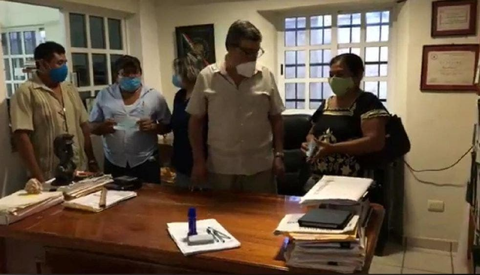 Campesinos del X-hazil Sur y anexos reciben pago de indemnización