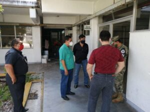 Protección Civil verifica refugios y albergues en la isla