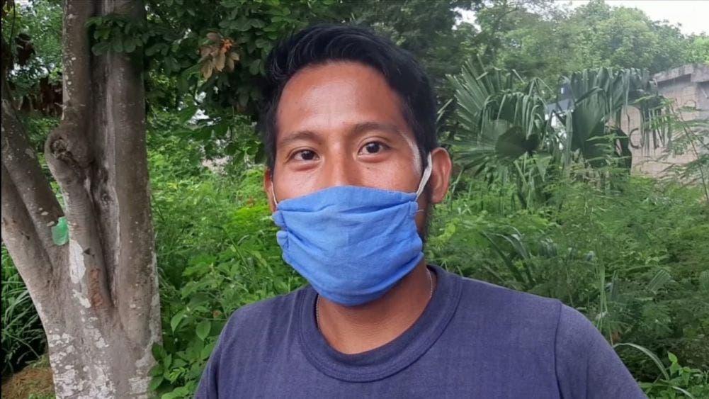 Desde limpiar terrenos hasta vende aguas, menos delinquir: ciudadano afectado por Covid-19