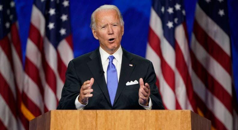 Joe Biden acepta la candidatura presidencial de Estados Unidos