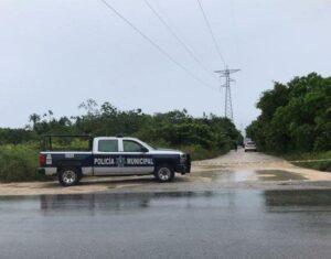Lluvia no frena hechos de violencia en Cancún