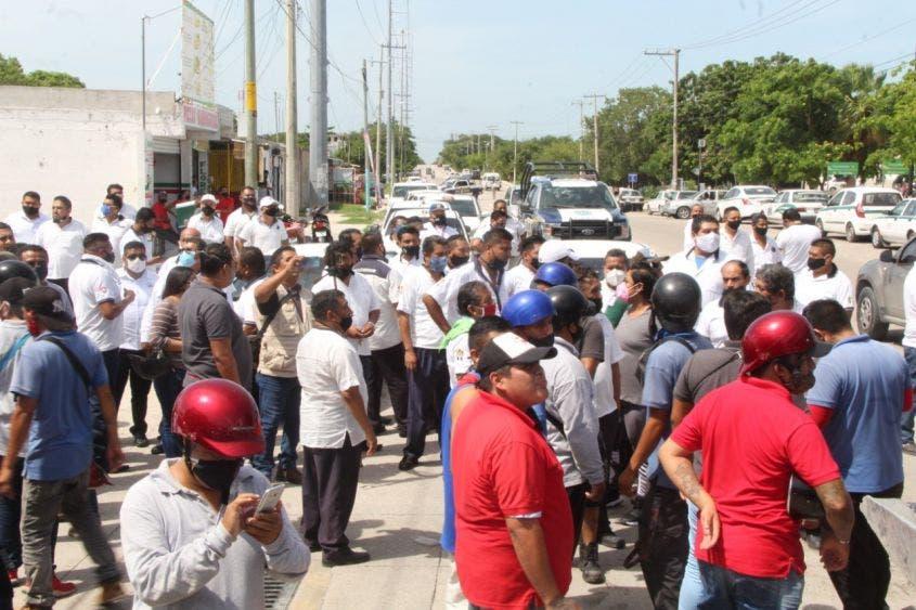Aplicarán la fuerza pública en conflictos de transportistas