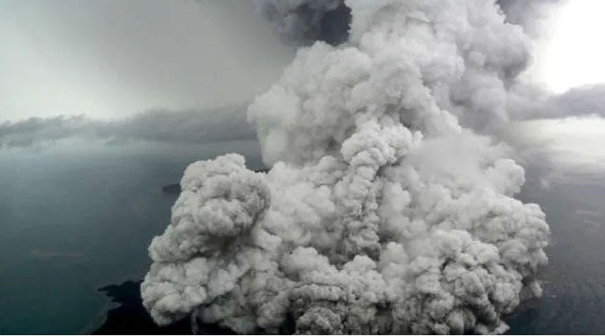 Erupción del Krakatoa, el sonido más potente jamás registrado