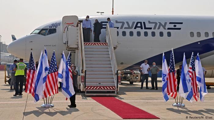 Avión comercial vuela por primera vez entre Israel y Emiratos Árabes Unidos